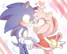 Sonic and Amy <3