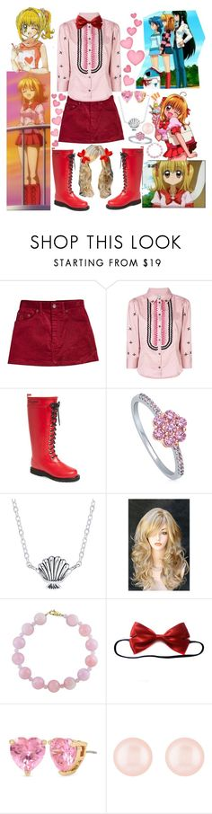 """Luchia Nanami"" by fandom-girl365790 ❤ liked on Polyvore featuring Marc Jacobs, Temperley London, Ilse Jacobsen Hornbaek, BERRICLE, Disney, WithChic, Effy Jewelry, Betsey Johnson, Henri Bendel and mermaid"