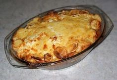 Cod Fish, Macaroni And Cheese, Food And Drink, Pudding, Tasty, Baking, Ethnic Recipes, Main Courses, Mushrooms