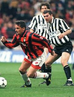 Baggio e Zidane