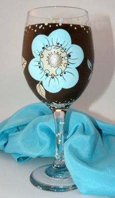 Mom Wine Glass by GranArt on Etsy, $24.00
