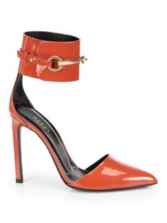 NIB GUCCI Ursula Ankle Strap Patent Leather-based-based Horsebit Heel Pumps - Measurement 6 36 $660 - http://www.shoeuser.com/nib-gucci-ursula-ankle-strap-patent-leather-based-based-horsebit-heel-pumps-measurement-6-36-660.html