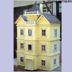 Yellow townhouse