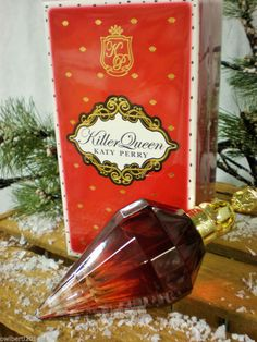 LADIES DESIGNER FRAGRANCE Katy Perry Killer Queen EDP 100ml spray Presented in a beautiful box RRP 59.00 OUR PRICE £29.99
