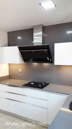 Discover recipes, home ideas, style inspiration and other ideas to try. Modern Kitchen Cabinets, Kitchen Cabinet Design, Double Vanity, Sweet Home, Decoration, Dining, Furniture, Home Decor, Ideas