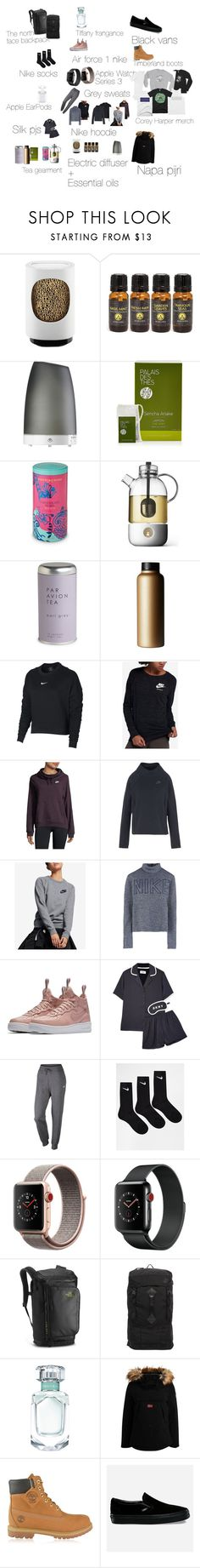 """""""2018 wishlist"""" by misandovalgonza on Polyvore featuring Diptyque, Serene House, Palais des Thés, Fortnum & Mason, Par Avion Tea, T2, NIKE, DKNY, Apple and The North Face"""
