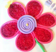 Flower decoration for birthday cake