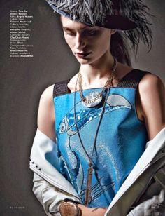 "Duchess Dior: ""Take Flight"" Noam Frost for Vanity Fair Italy April 2014"
