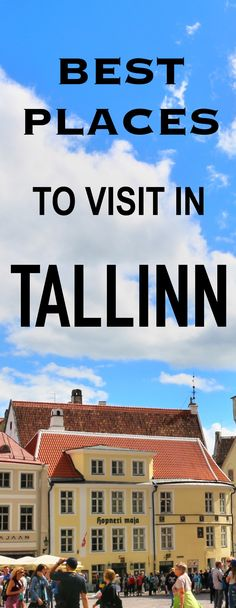 Thas one of the most beautiful Old Town Squares that we have ever seen. This city is charming, lovely and has a lot to offer. In this post we're sharing with you top Tallinn travel tips and best places to visit in this city. We hope this guide will fuel your wanderlust and inspire you to explore the capital of Estonia!