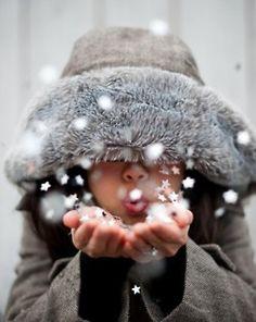 Wish upon a snowflake ;o)