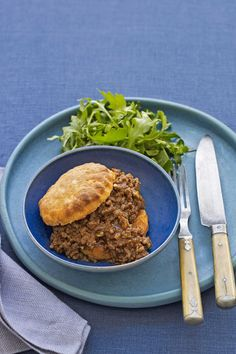 Sloppy Joes with Sweet Potato Biscuits
