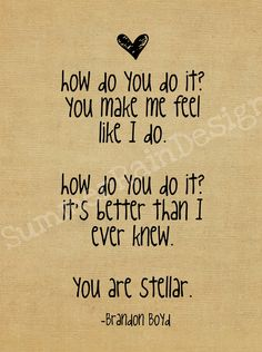 """""""Stellar"""" Incubus  Favourite song <3"""