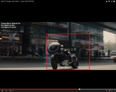 """ITS THE TARDIS IN THE AVENGERS AGE OF ULTRON TRAILER! -- Oh my word. Doctor Who is spreading to the Avengers Universe. // """"Hm. Strange, usually aliens attack London don't they?"""" // """"Must have made the wrong turn Doctor."""" // """"Ah well. Oh look there goes Steven Rogers. Good chap, knew Peggy, my old traveling companion."""""""
