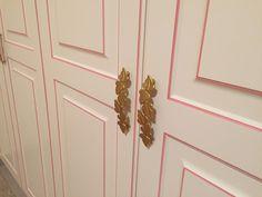 Classic Wardrobe with rose patina. Nomidis Luxury Furniture