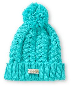 <b>Item Available For Pre-Sale, Will Ship On 11/14/2014.</b><br><br> From the summits to the streets stay warm in ultra fresh style with this fold style beanie made with a chunky knit construction and a large pom pom at top.