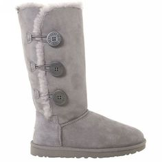 UGG Boots - Bailey Button Triplet - Grey - 1873