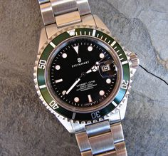 steinhart ocean 1 green Steinhart Watches mens luxury watch. steinhart #divers #marine #aviation pilots chronographs @calibrelondon