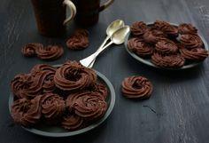 Chocolate Desserts, Fun Desserts, Dessert Recipes, Sweet Cookies, Cake Cookies, Pavlova, Cookie Decorating, Nutella, Cookie Recipes