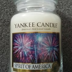 Woody, fresh and maculine. #spiritofamerica #yankeecandle #scentedwax #candle #waxaddicts