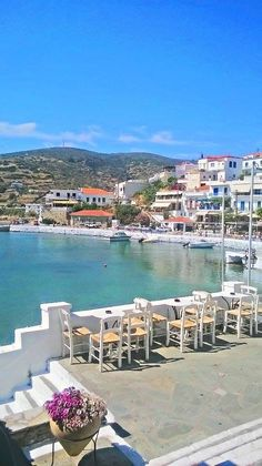 26 Famous Movies Filmed in Greece and the Greek Islands - Greeker Than The Greeks Andros Greece, Mykonos, Greece Pictures, Greece Islands, Greece Travel, Famous Movies, Vacation Spots, Beautiful Places, Greek Isles