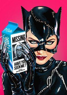"the-catwoman: ""Flore Maquin "" DC Comics - Catwoman - Selina Kyle Catwoman Cosplay, Batman Et Catwoman, Cosplay Gatúbela, Batman Art, Kids Batman, Batman Stuff, Batgirl, Batman Returns, Dc Universe"