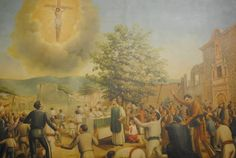 On Sunday, Oct. 3, 1847, more than 2,000 people in Ocotlán, Mexico saw a perfect image of Jesus Christ crucified that appeared in the sky for more than 30 minutes.