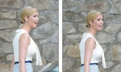 Ivanka Trump Sets New Standard For Elegance and Class With Stunning Outfit Today (Pic)