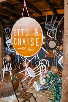 Otto and Chaise Furniture Hire