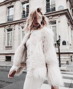 Зимняя женская верхняя одежда, меха, мода и стиль | Winter fashion, style, outfit, look, girl, model