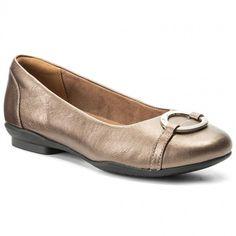 c2583e0e703b5 Balerini CLARKS - Neenah Vine 261288644 Pewter Leather