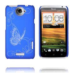 Joy (Blå) HTC One X Deksel