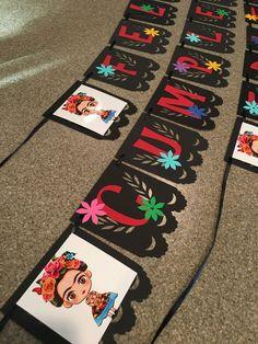 Frida Kahlo banner frida Kahlo party frida party decor   Etsy