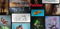 We are not Photoshop. We are Infinite Painter. Natural Brushes, Android Apk, Reference Images, Google Play, Infinite, Paper Texture, Photoshop, Artwork, Instagram