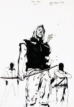 Green Arrow by Jock