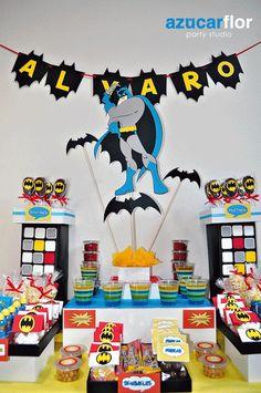 AZUCAR FLOR party studio: BATMAN