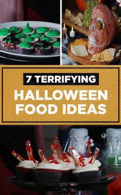 7 Terrifying Halloween Food Ideas   #halloween2017 #halloweenparty #halloweenfood #diy #halloween