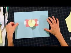 How to Make a Rotator | Pop-Up Cards - YouTube
