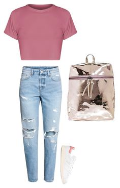 Untitled #998 by mazzyfaye on Polyvore featuring polyvore fashion style BasicGrey H&M adidas Originals clothing