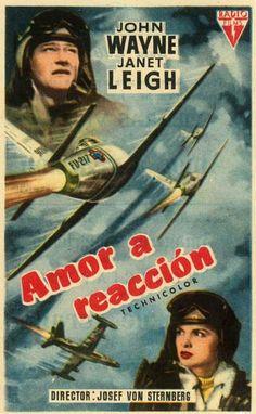 """Amor a reacción (1957) """"Jet Pilot"""" de Josef von Sternberg - tt0050562"""
