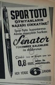 Spor Toto kalemleri