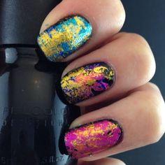 """Cheetah Valentine"" nail art b - http://yournailart.com/cheetah-valentine-nail-art-b/ - #nails #nail_art #nails_design #nail_ ideas #nail_polish #ideas #beauty #cute #love"