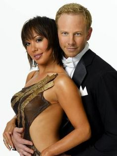 Picture: Ian Ziering and Cheryl Burke of ABC's 'Dancing with the Stars.' Pic is in a photo gallery for Cheryl Burke featuring 35 pictures. Dancing With The Stars Pros, Ian Ziering, Cheryl Burke, Soap Opera Stars, Strictly Come Dancing, Professional Dancers, Watch Tv Shows, Star Cast, Beautiful Costumes