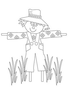 Printable Thanksgiving Coloring Pages Kid