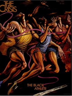 The Crisis, May 1983  Cover art: Ernie Barnes  Art director: O'Neal Abel