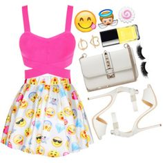 Emoji skirt