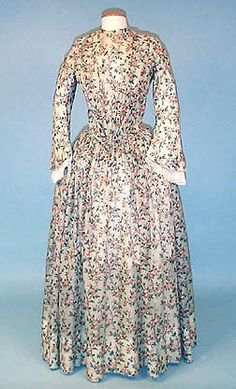 mary's 19th century clothing: 1840-1859