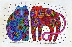 "Laurel Burch ~ ""Flowering Felines"" Laurel Burch, Kids Art Class, Art For Kids, Cat Health Care, Cat Magazine, Fun Challenges, Creative Inspiration, Art Lessons, Cat Lovers"