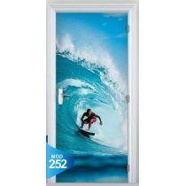7b7fecf96 Adesivo 123 Porta Surf Mar Praia Prancha Onda Tubo Ondas De Surfe