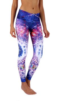 Elliptical Galaxies Compression Leggings