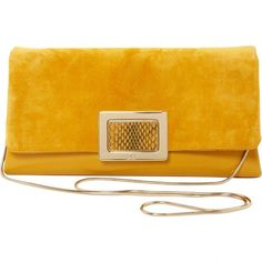 Pre-owned Roger Vivier Clutch Bag ( 579) ❤ liked on Polyvore featuring bags c8d7cdaa5ef44
